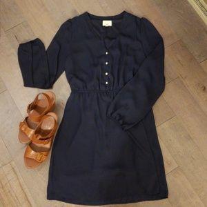 Navy dress,  size L